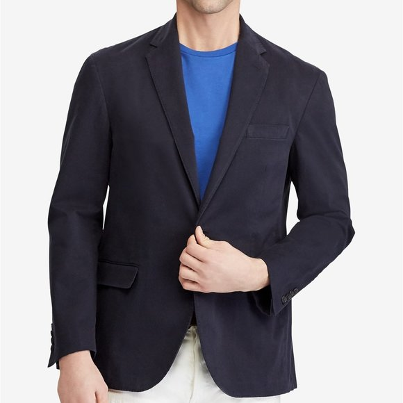 Ralph Lauren Polo I Navy Wool Blazer Sportcoat Jacket USA New $995